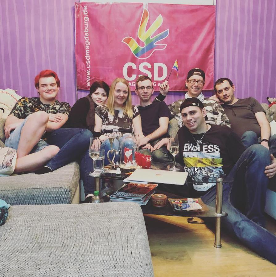 Erstes Arbeitstreffen Queer-Magdeburg