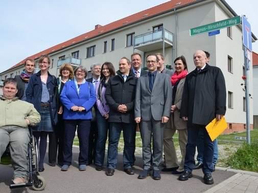 Magdeburg hat nun einen Magnus-Hirschfeld-Weg