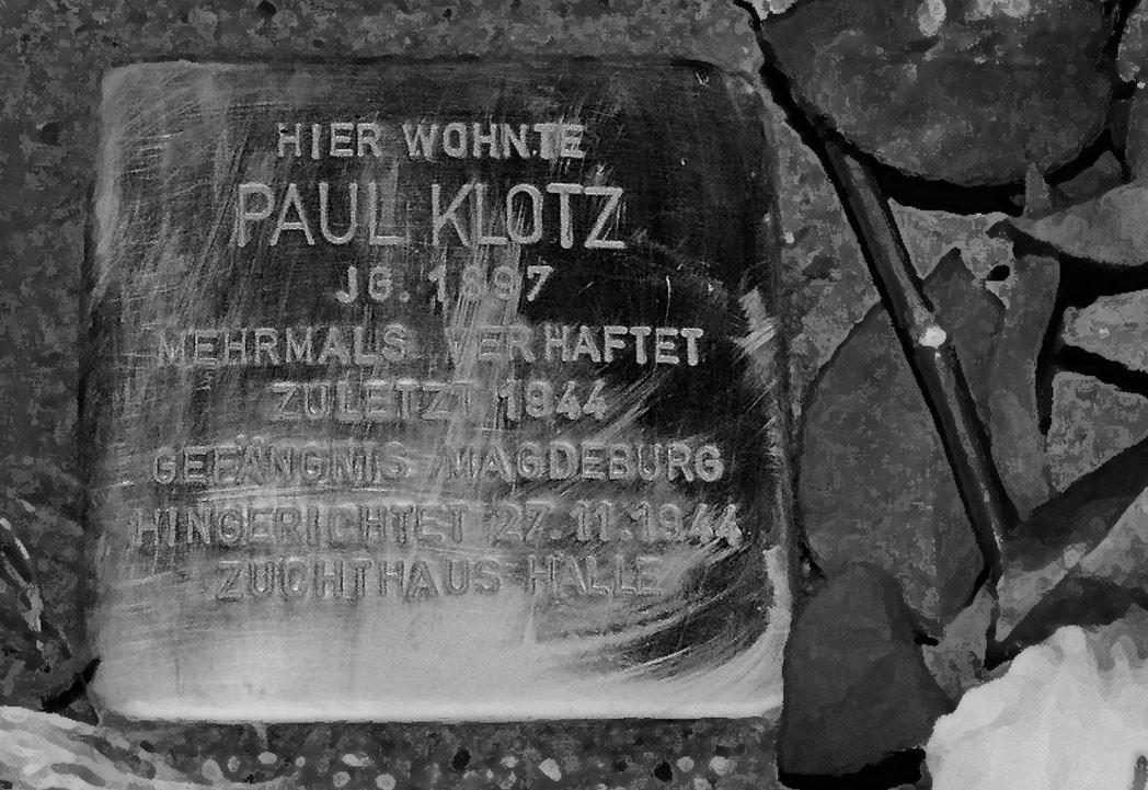 Stolpersteine für homosexuelle NS-Opfer in Magdeburg