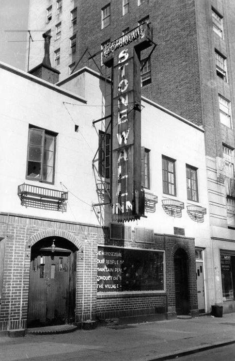 Ein erster Aufstand im Stadtviertel Greenwich Village