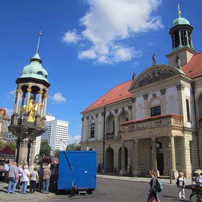 CSD Magdeburg zum ersten mal auf alten Markt